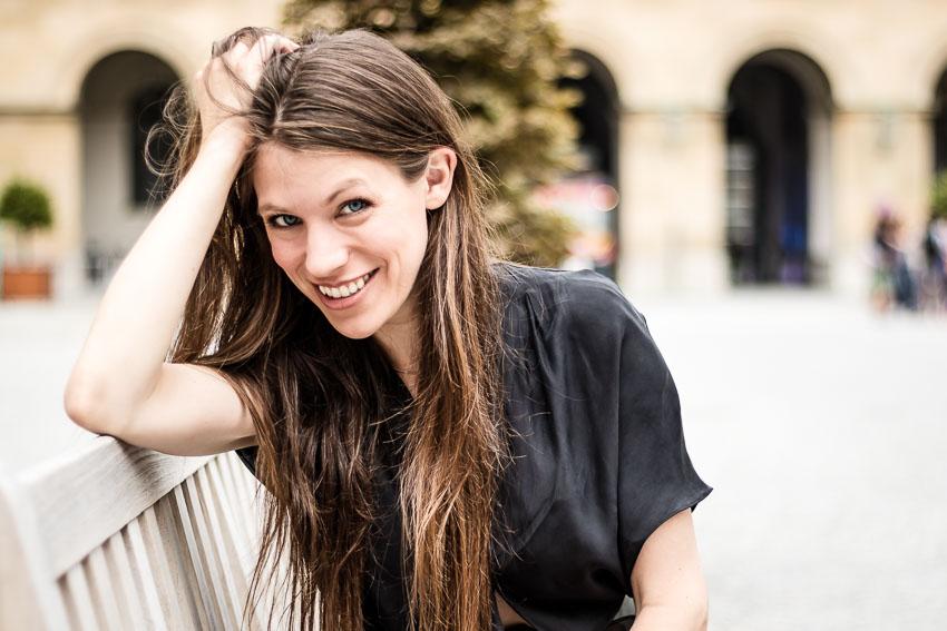 Schauspielerin Fee Denise Horstmann